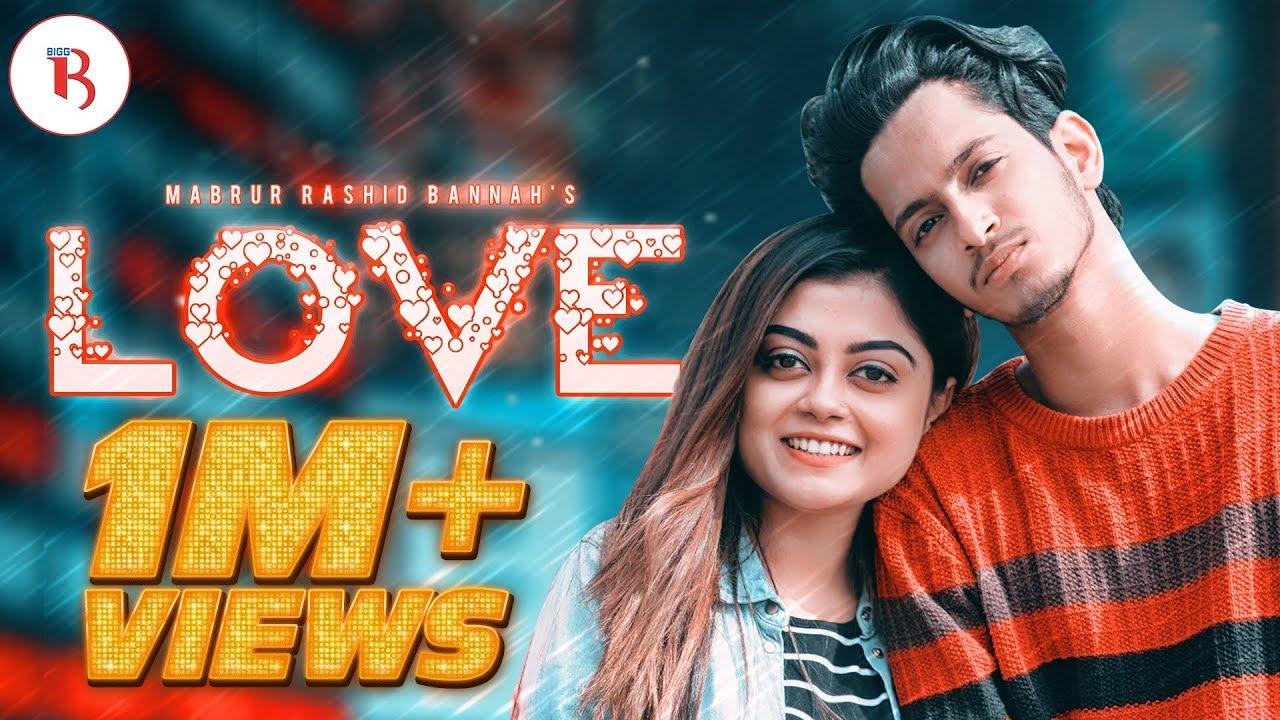 Download LOVE | New Valentine Natok | Prottoy Heron | Mahima | Mabrur Rashid Bannah | New Natok