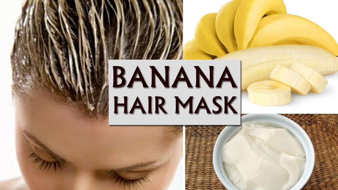 Apply This Banana Curd Hair Mask To Stop Hair Fall Instantly Youtube