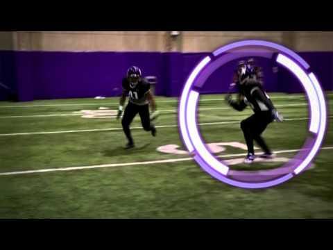 Northwestern Wildcats open field tracking: Defensive backs