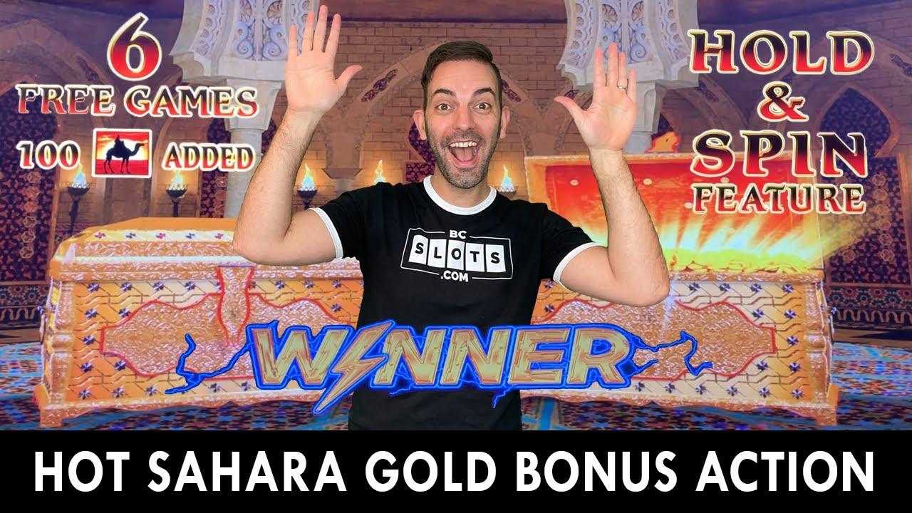 🐪 Hot Sahara Gold Bonus Action Bringing The Heat 🐪