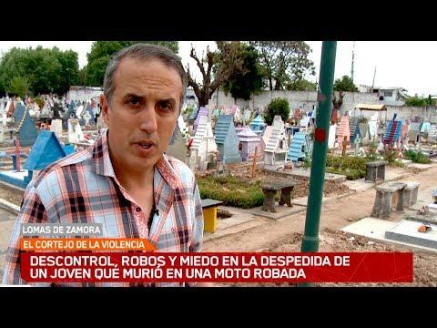 Descontrol, Robos Y Miedo En El Cementerio De Lomas De Zamora