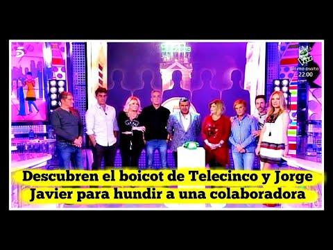 Descubren el boicot de Telecinco y Jorge Javier para hundir a una colaboradora