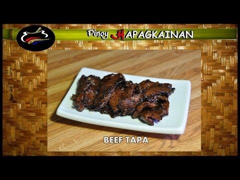 Pinoy Hapagkainan BEEF TAPA