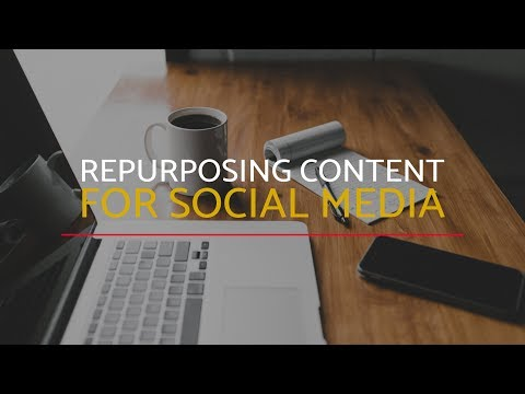 MyCom Podcast Ep. 021:  Repurposing content for social media with Steven Adair