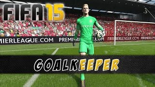 FIFA 15 Demo - Goalkeeper - Animations + Saves [PS4]