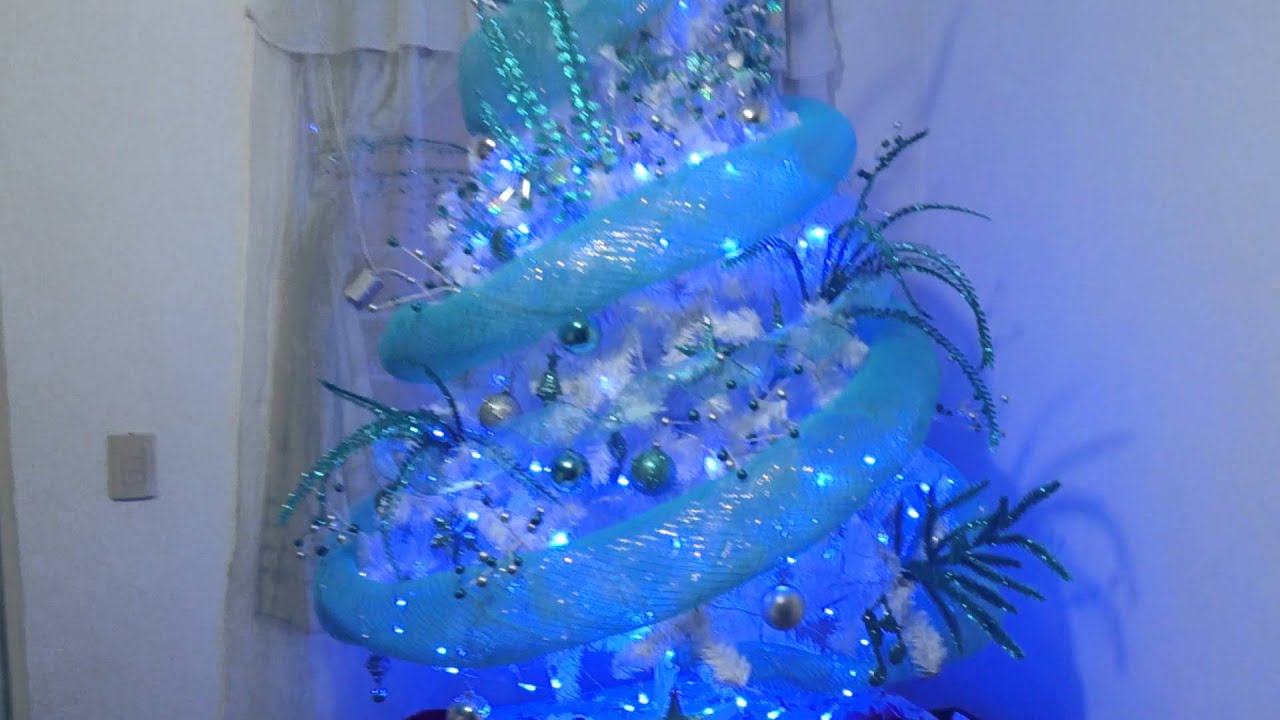 Mi rbol de navidad 2013 youtube - Como adornar un arbol de navidad blanco ...