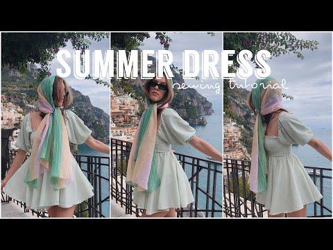 SUMMER DRESS sewing