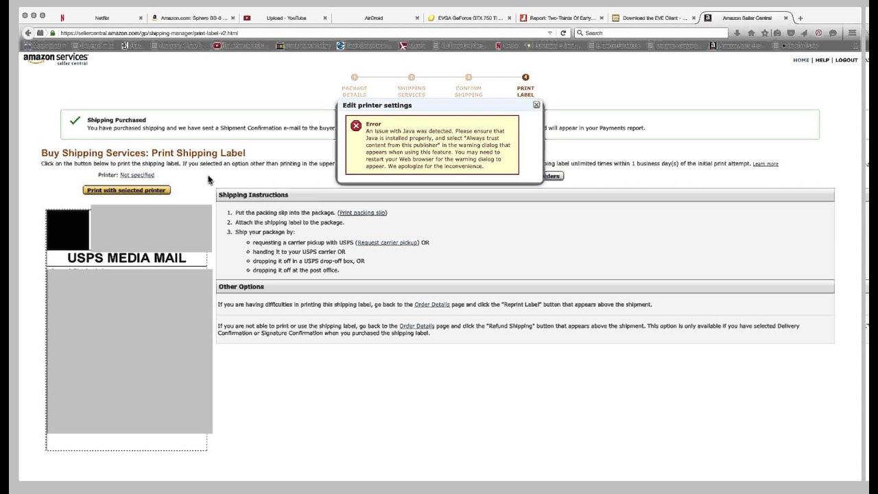 how to fix pdf printing problem
