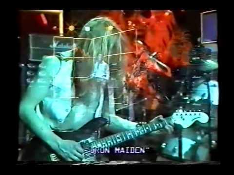 Iron maiden   1981 Bremen - Beat Club