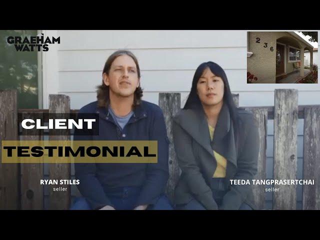Seller Clients Testimonial by Ryan and Teeda