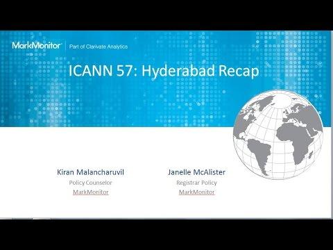 ICANN 57 Recap