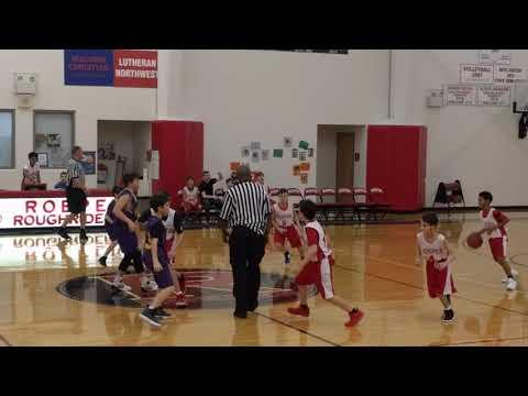 Plymouth Christian Academy 6th Grade Boys Basketball 01/17/18 Part 1