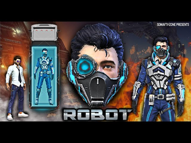 Robot : रोबोट Short Film | Action And Thriller Free Fire Movie | Free Fire Superhero Series