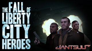 The Fall of Liberty City Heroes - GTA IV Movie