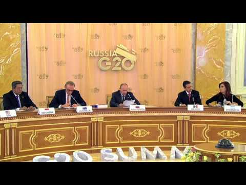 Speech at the second working session of G20 leaders