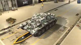 World Of Tanks Blitz Game Play (Comet) v4.2.1