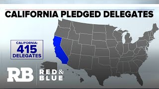 415 delegates at stake in California on Super Tuesday