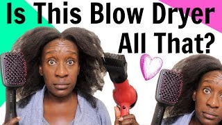 Revlon One Step Hair Dryer Brush on 4c Natural Hair | Overhyped or Nah?