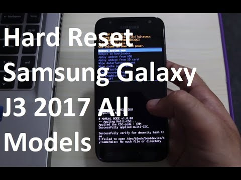 How to Hard Reset Samsung Galaxy J3 2017 All Models Easily!
