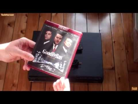 Toshiba HD-D3 HDDVD Player Unboxing