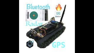 Arduino Robotic Tank controlled via bluetooth by Android - Senior Project Computer Engineering