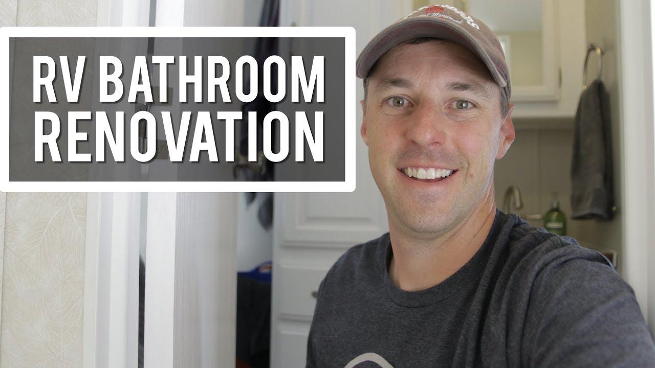 Delicieux RV Bathroom Remodel!