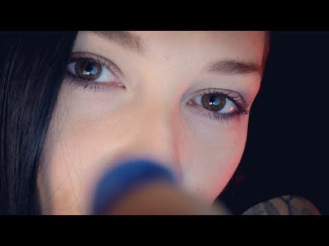 ASMR UP CLOSE Personal Attention 🤗 Face Touching | Pokes | Little Talking