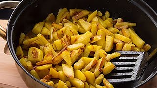 Fried potatoes! The most delicious you've ever eaten! 5 recipes in this video