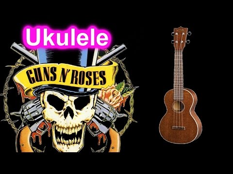 Guns N' Roses - Sweet Child of Mine - Ukulele Cover - PocketFox