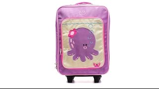 Детский чемодан на колесах, 22,1 литра Penelope-Octopus, фиолетовый Beatrix NY(Интернет-магазин сумок, чемоданов и рюкзаков - http://travel-secrets.ru/ Представляем Вашему вниманию - чемодан на..., 2016-02-23T16:38:35.000Z)