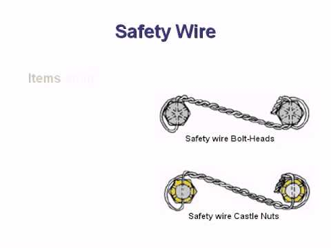 spacetec applied mechanics safety wire youtube rh youtube com Wire Nuts Electric Outdoor Wire Nuts