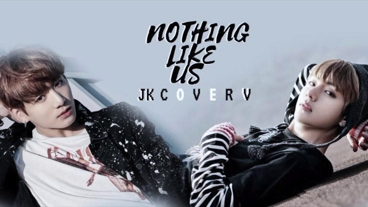 bts 방탄소년단 jungkook ft v nothing like us cover youtube