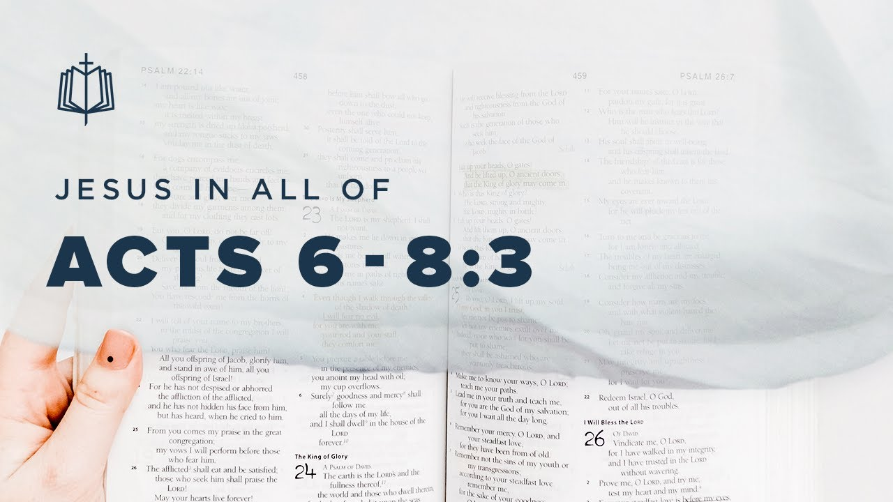 Download STEPHEN'S SPEECH   Bible Study   Acts 6-8:3