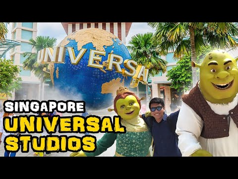 My Solo Travel in Singapore – Day 2 | Having Fun in Sentosa Island and Universal Studios.