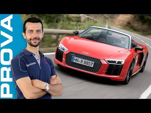 Audi R8 Spyder   La nostra prova su strada