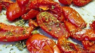 Вяленые помидоры в духовке. Sun-dried tomato