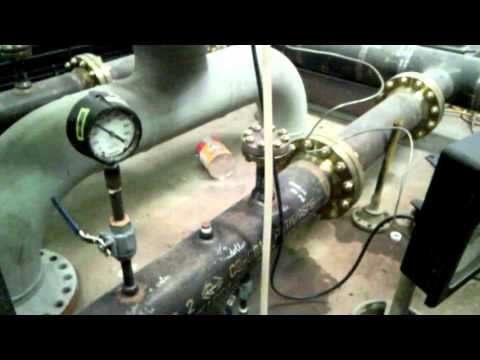 Hydrotest For Pipe Skid Metering Size 6 & 8 Inch Using Barton Chart Recorder
