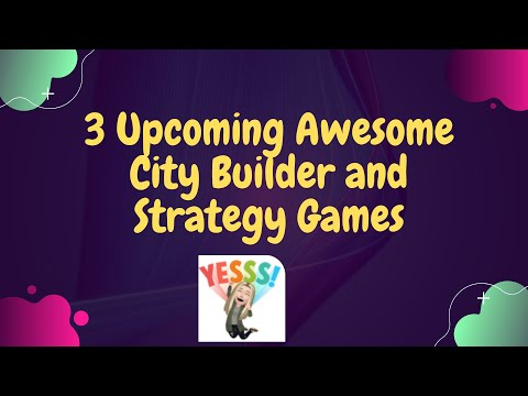 3 Awesome Upcoming Games! 💗   Before We Leave   Night is Coming   Aztec Empire  