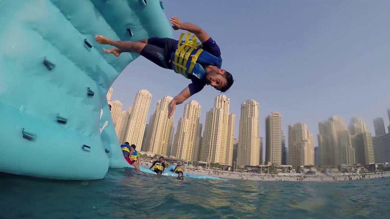 Dubai Aqua Park - YouTube