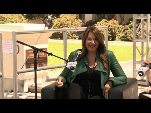 Lorraine Bracco at 2015 L.A. Times Festival of Books