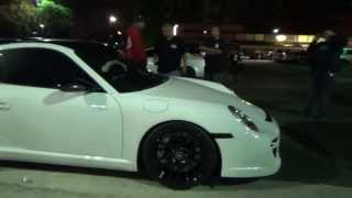 "AV Boys ""Grey Mare"" Mustang Vs Izzy Performance Porsche Twin Turbo VRT"