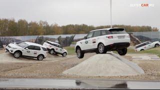 Открытие Jaguar Land Rover Experience Москва