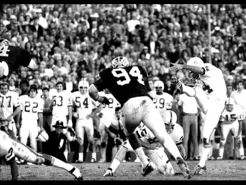 1972 Rose Bowl Michigan vs Stanford - YouTube