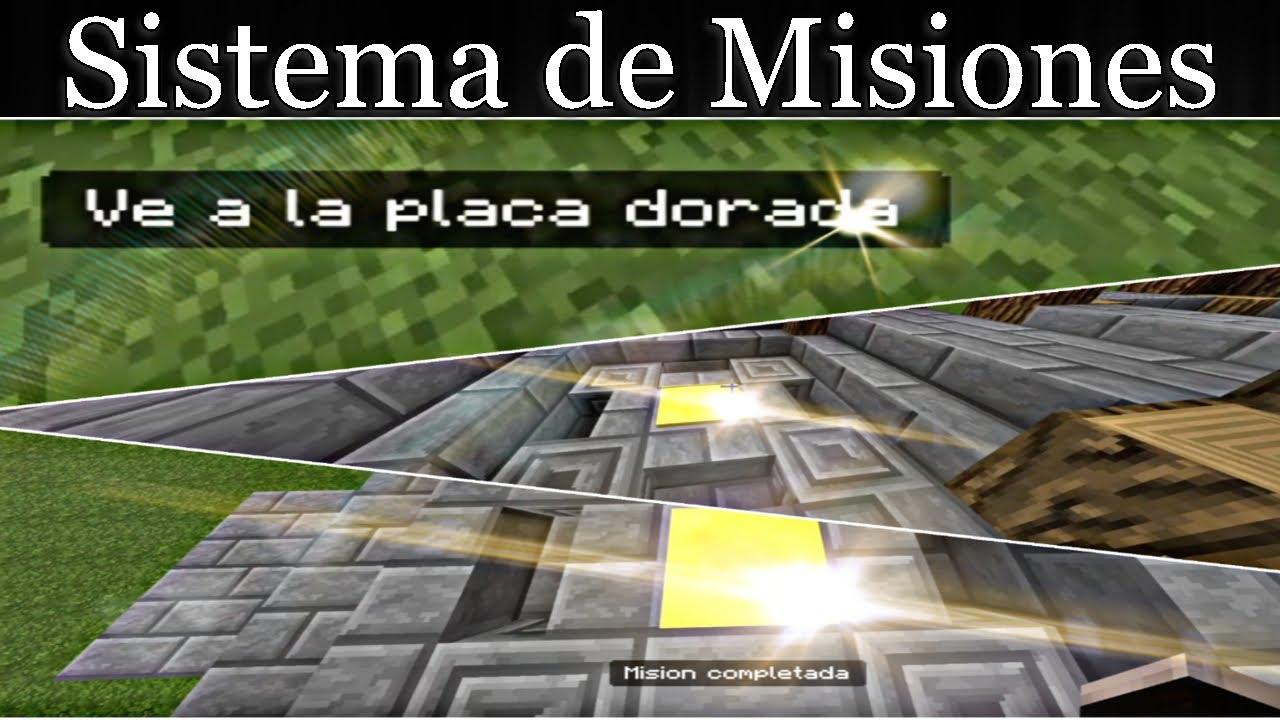 Minecraft PE/BE | Hacer un Sistema de Misiones | TutoComandos