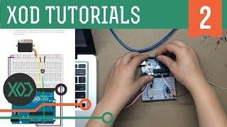 XOD visual programming (Arduino based). Tutorial: #2