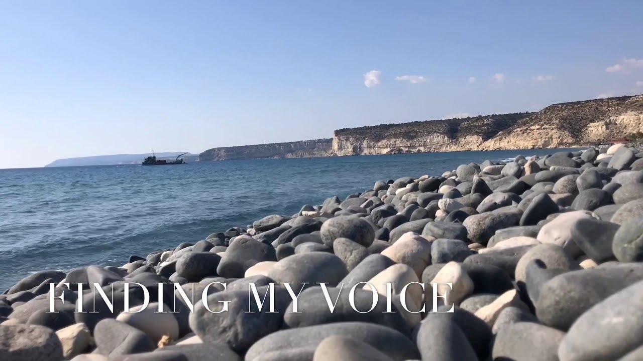FINDING MY VOICE:  A Projection Poem by Ishmael von Heidrick-Barnes