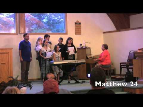John's 2013 Fiddle Camp recital, Family tune highlights