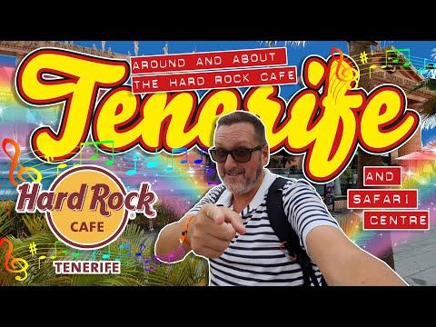 Tenerife - Around & About The Hard Rock Cafe & Safari Centre