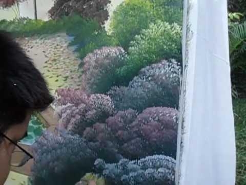 Pintando arbustos youtube - Arbustos con flores ...