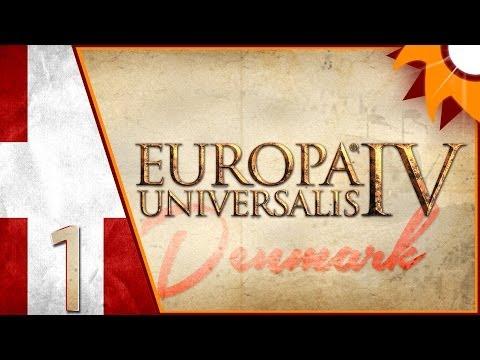 Europa Universalis IV as Denmark - Episode 1 ...The Livonian Order's Borders...